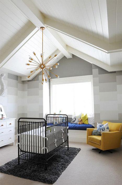 Dormitorios para bebés en gris y amarillo. Una atractiva combinación.   Mil Ideas de Decoración   Decoración de interiores   Scoop.it