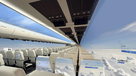 This plane could lower carbon emissions -- and give everyone a window seat | Sustain Our Earth | Scoop.it