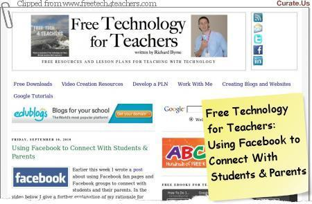 The Complete Facebook For Educators! | Tech the Plunge | TELT | Scoop.it