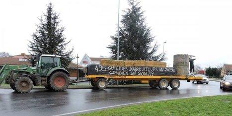 Dordogne : l'accès aux grandes surfaces de Bergerac bloqué par des agriculteurs | Agriculture en Dordogne | Scoop.it