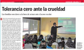 """Convivencia escolar"", por Ana Torres Jack 