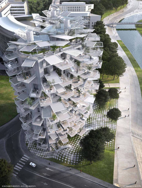 Montpellier : l'Arbre Blanc, une « Folie » architecturale pour le XXIème siècle - Cyberarchi | Cahier des Architectes | Scoop.it