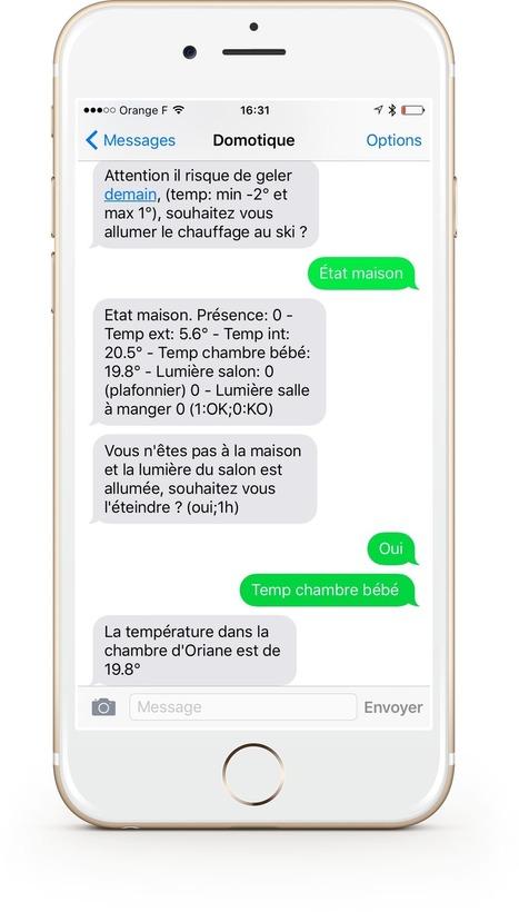 Pilotez et interagissez par SMS avec vos objets connectés   Machines Pensantes   Scoop.it