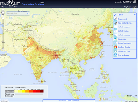 Population Explorer | Primary Teaching Resources K-6 | Scoop.it