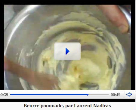 Beurre pommade - WebTV Hôtellerie-restauration et Métiers de l'alimentation | Hobby, LifeStyle and much more... (multilingual: EN, FR, DE) | Scoop.it