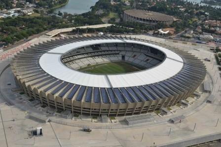 Rumbo al Mundial de Fútbol 2014: Brasil inaugura la nueva cubierta ... - Plataforma Arquitectura | mundial 2014 | Scoop.it