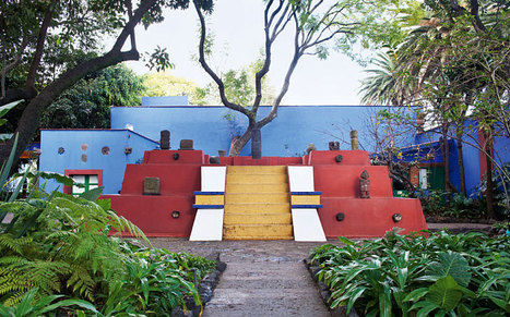 How Frida Kahlo's bright, beautiful garden inspired her | enjoy yourself | Scoop.it