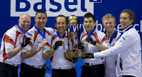 Canadá fatura o tricampeonato do Mundial masculino de Curling   esportes   Scoop.it