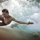 Crash Into Me: Underwater Wave Photos Turn a Fluke Into Eye Candy - Wired | Photography | Scoop.it