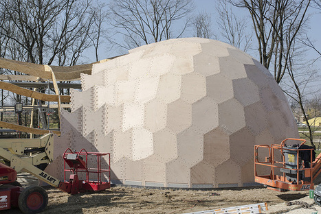 LaGa Exhibition Hall: Construction started « Institute for Computational Design (ICD) | e-merging Knowledge | Scoop.it