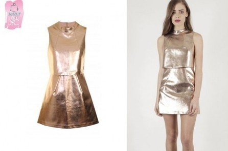 Daily Buy: The Rose Gold Cropped Dress | StyleCard Fashion Portal | StyleCard Fashion | Scoop.it