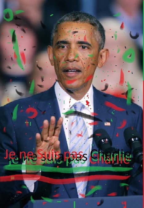 Barack Obama's French kiss-off; n'est pas Charlie   TOP STORIES   Scoop.it