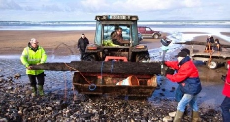 The Archaeology News Network: Storm washes Armada wreckage on to Sligo beach | The Related Researches & News of Dr John Ward | Scoop.it