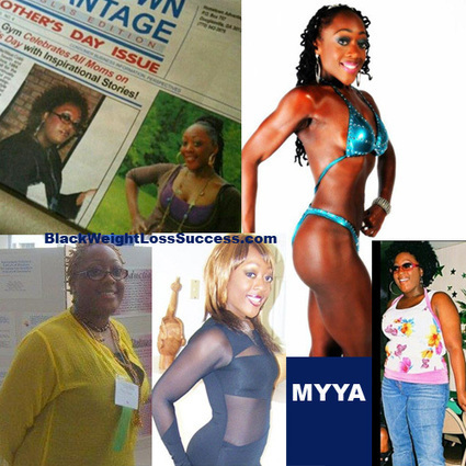 Myya lost 100 pounds | Black Weight Loss Success | workouts | Scoop.it