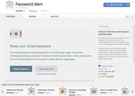 Evita el phishing con Google Password Alert   #GoogleMaps   Scoop.it