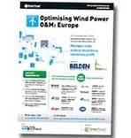 Optimising Wind Power O&M: Europe, September 3-4, 2013 | Wind Power O&M | Scoop.it