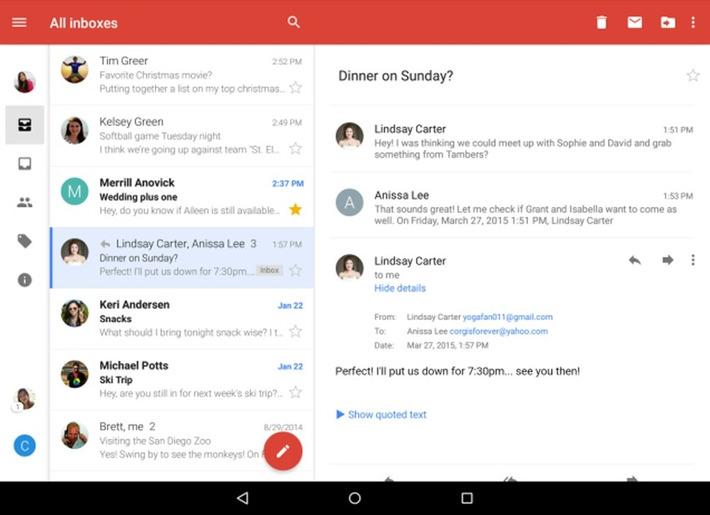 """Gmail permet désormais de visualiser tous les comptes de messagerie   Veille Techno et Informatique """"AutreMent""""   Scoop.it"""