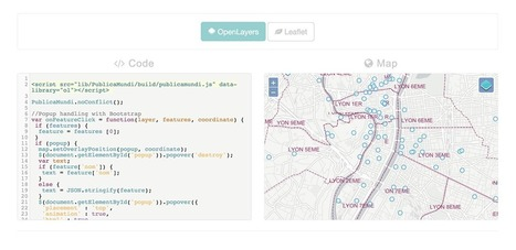 GeoLabs. One script, two maps ! | Geomobile | Scoop.it