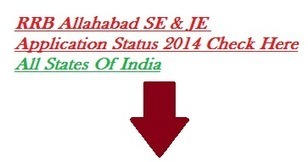 Government Jobs, IT jobs, Results, Admit Cards, Employment News, Careers: RRB Allahabad SE JE Application Status 2014 Eligibility Check Here | careerit jobs | Scoop.it
