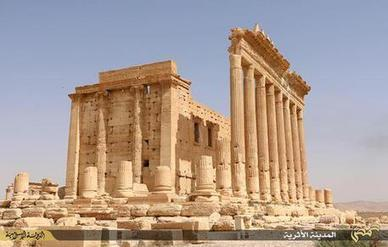 Isis distrugge tempio di Bel a Palmira | LVDVS CHIRONIS 3.0 | Scoop.it