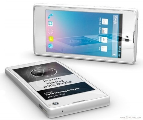 YotaPhone : Une téléphone intelligent double face | PixelsTrade Webzine | Business Apps : Applications in-house | Scoop.it