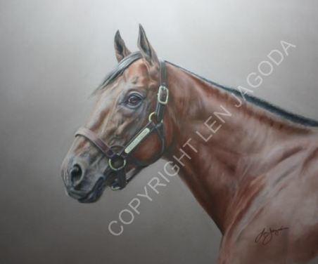 American Pharoah Portrait to Benefit Georgia Horse Racing Coalition - Horse Racing Nation | Racing Business | Scoop.it