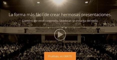 Slidebean, crea bonitas presentaciones desde la web y compártelas   Aplicaciones TIC SF   Scoop.it