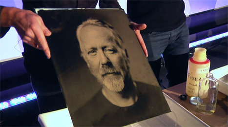 Watch as a Tintype Portrait of Adam Savage is Made on Stage, From Start to Finish | L'actualité de l'argentique | Scoop.it