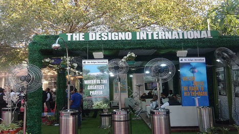 Mist Fans, Cooling System, Outdoor Heaters Manufacturers Delhi, India | Mist Fan, Misting System, Outdoor Cooling System India | Scoop.it
