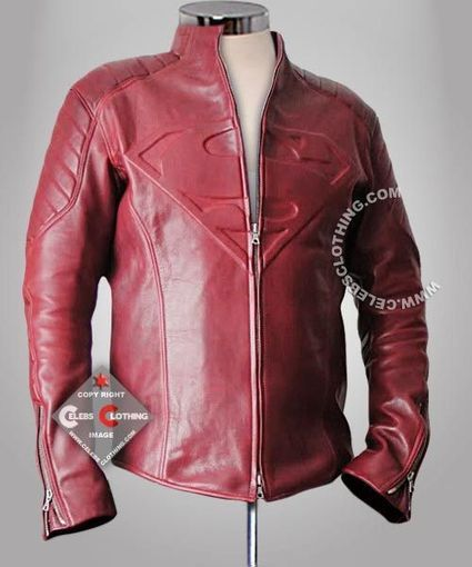 Superman Smallville Leather Jacket | Superman Man of Steel Costume | Scoop.it