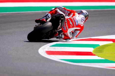 "Dovizioso: ""My GP15 had a problem with the rear sprocket"" 