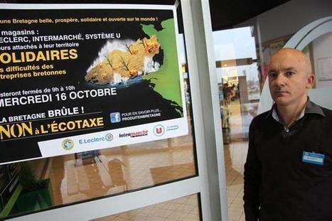 Écotaxe: les grandes enseignes vitréennes affichent leur solidarité. | Bookmark de la grande distribution | Scoop.it
