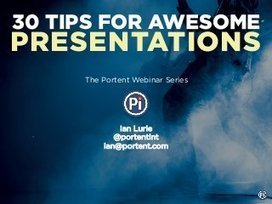 30 tips for awesome presentations | Digital storytelling in efl classroom | Digi_storytelling | Scoop.it