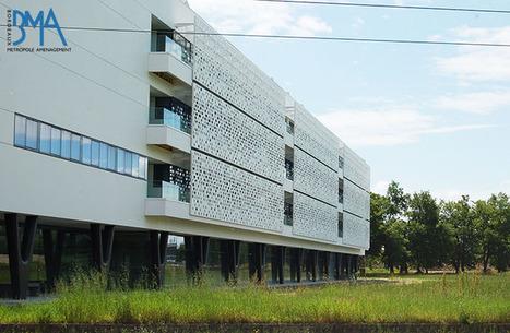 Talence : zoom (photos) sur la construction de l'Institut d'Optique Graduate School (IOGS) | BMA - Bordeaux Métropole Aménagement | Scoop.it
