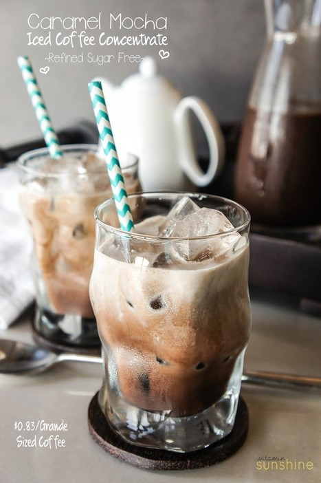 Caramel Mocha Iced Coffee Concentrate | Last Call | Scoop.it