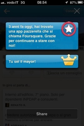 Foursquare per il vostro business - SMC | Social Media Consultant 2012 | Scoop.it