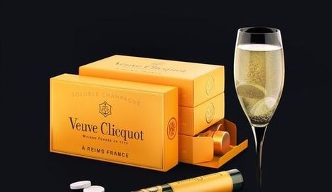 Non, Veuve Clicquot n'a pas créé des pastilles de champagne solubles   Luxury   Scoop.it