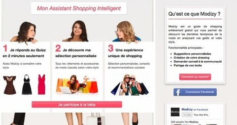 Modizy, l'Assistant Shopping Intelligent | WebZine E-Commerce &  E-Marketing - Alexandre Kuhn | Scoop.it