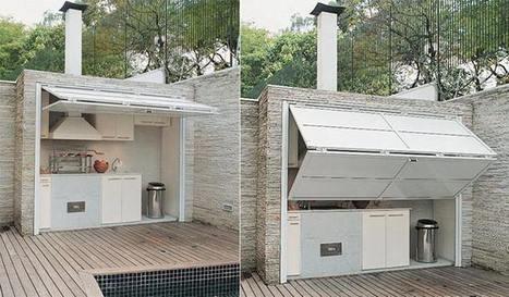 14 Smart Outdoor Kitchen Ideas | DIY Cozy Home | tecnologia s sustentabilidade | Scoop.it
