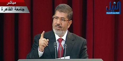 Morsi prête serment et affiche son soutien au peuple syrien | Égypt-actus | Scoop.it