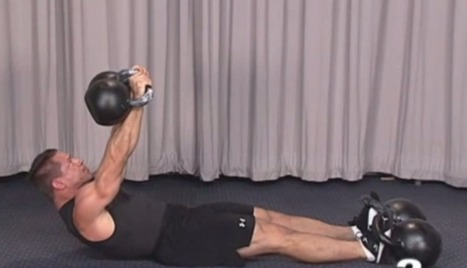A Unique Kettlebell Exercise For Your Core   Anything Fitness   Scoop.it