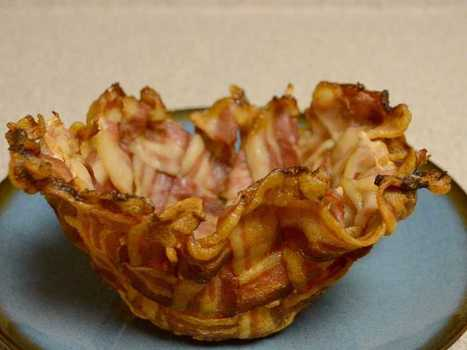Not all information is good: How To Make A Bacon Bowl | Heart and Vascular Health | Scoop.it