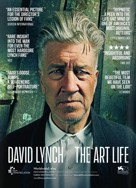 [LFF Review] David Lynch: The Art Life | Books, Photo, Video and Film | Scoop.it
