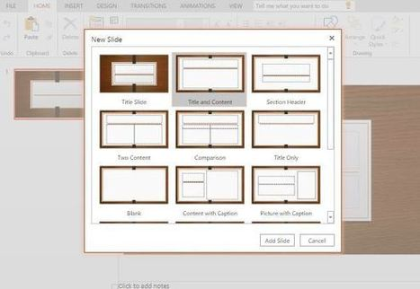 Darkwood Template for PowerPoint Online | Free Microsoft Office Templates | Scoop.it