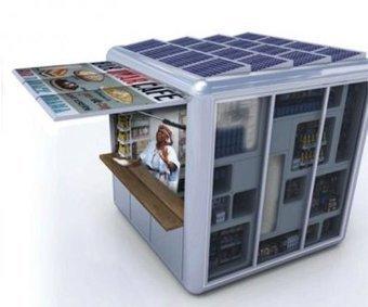 Le premier kiosque à énergie solaire du monde en Ethiopie | Projets d'architecture et d'urbanisme en Afrique | Scoop.it