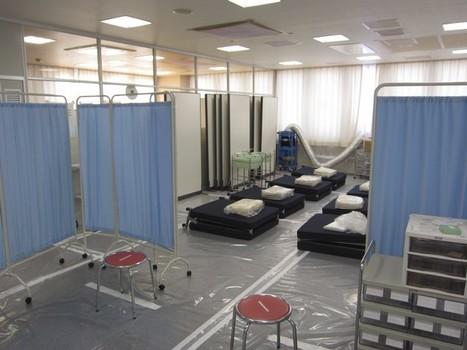 [Photo] Le service médical d'urgence de Tepco | Reuters Pictures | Japon : séisme, tsunami & conséquences | Scoop.it