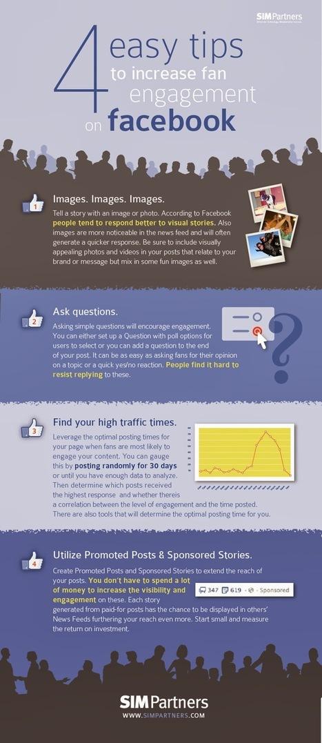 Comment avoir plus d'interactions sur votre page Facebook, 17 trucs ! | Digital Marketing | Scoop.it