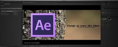 After Effects : Créer des calques de texte | After effects | Scoop.it