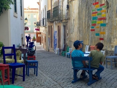 Why Artists Set Up Outdoor Living Rooms on Portuguese Streets | Adaptive Cities | Scoop.it