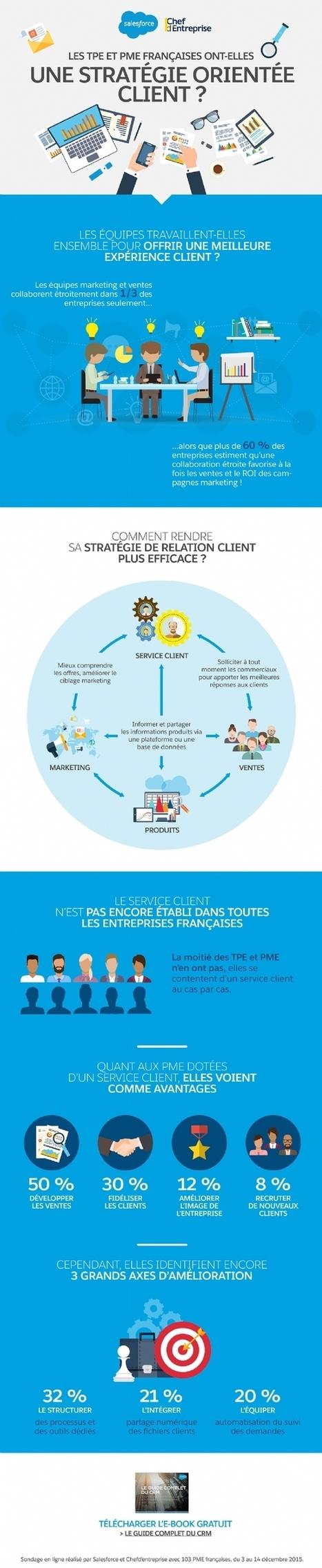 Infographie | PME : encore un effort dans votre relation client! | Acheteurs, Shopper and Consumer Insights. | Scoop.it